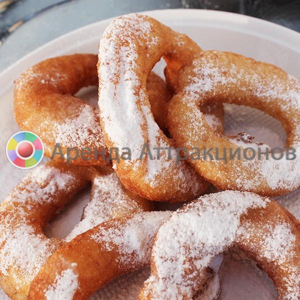 Пончиковый аппарат с пончиками