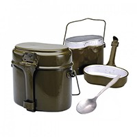 армейская посуда на праздник