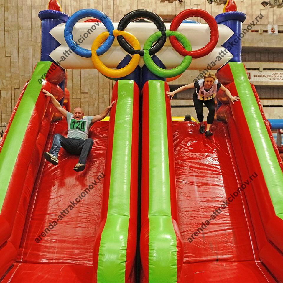 Аренда полосы препятствий Олимпийские кольца
