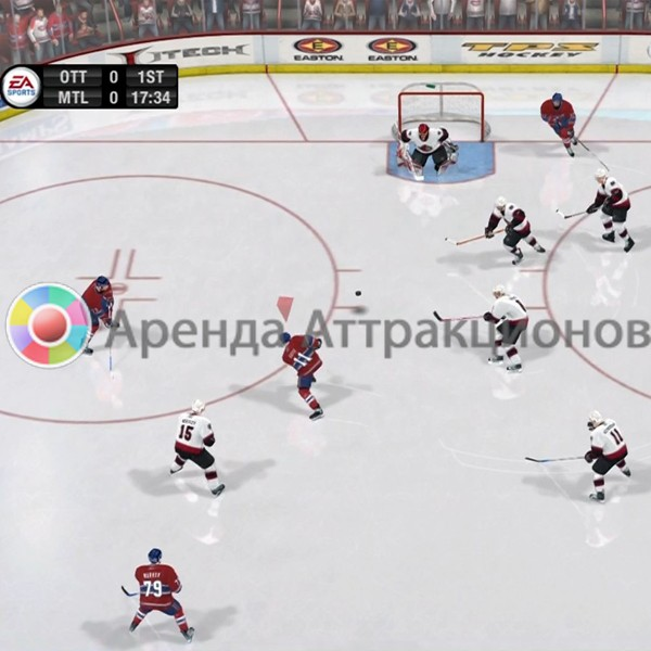 Хоккейные видеоигры на мероприятие