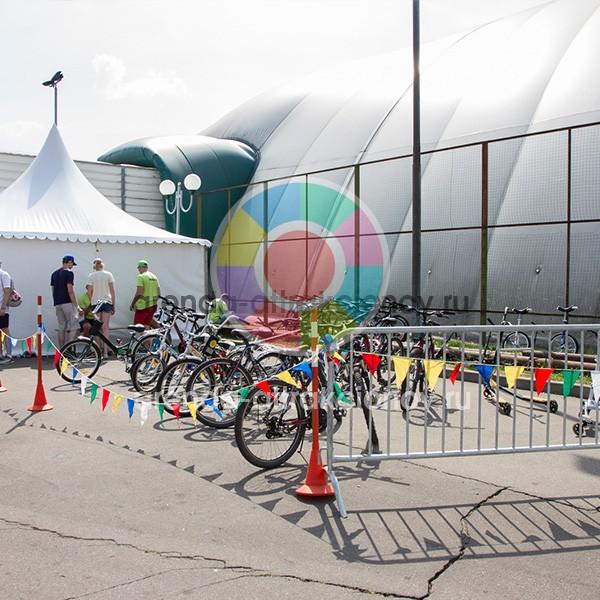 Аренда пункта проката для самокатов и велосипедов на мероприятие