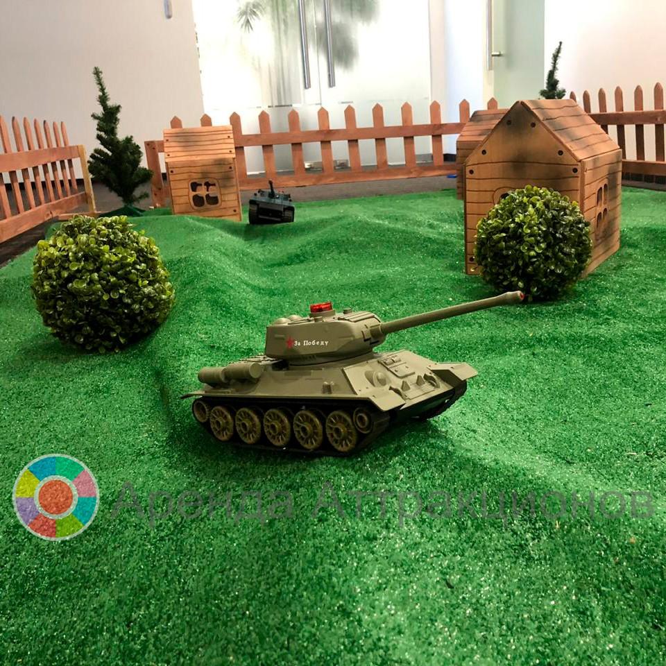 Модели боевой техники радиоуправляемые в аренду