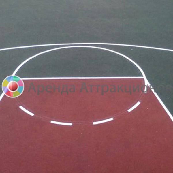 Разметка спортивных полей на спортивном празднике