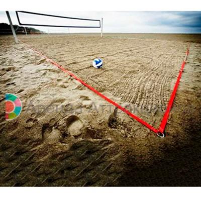 Разметка поля для командного волейбола