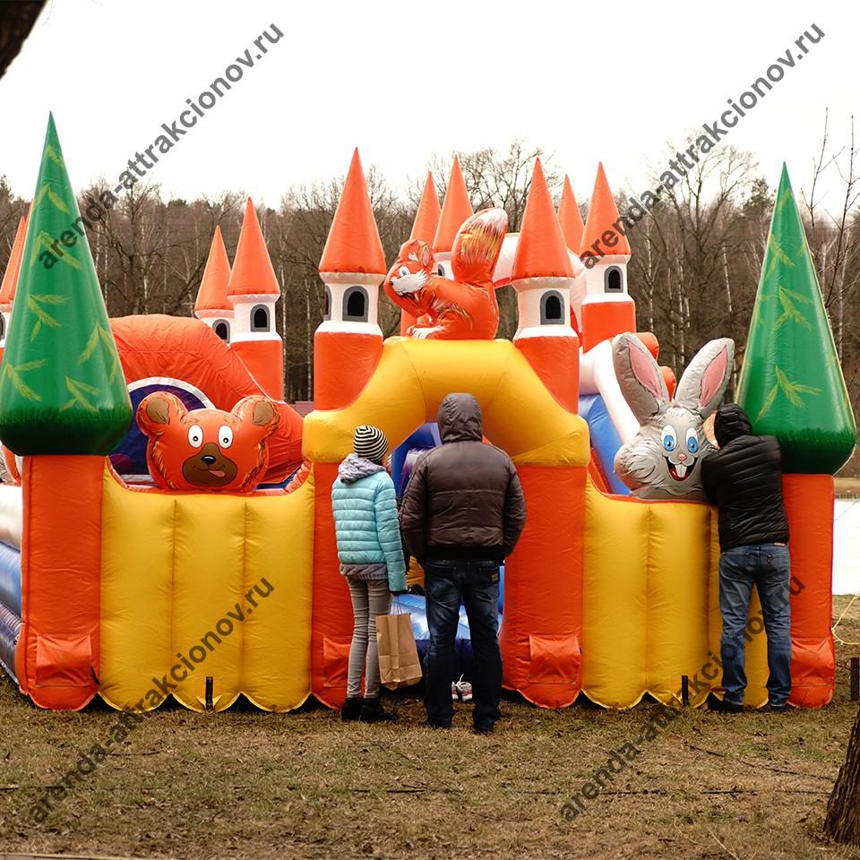 Заказать детский аттракцион Русский лес для детей