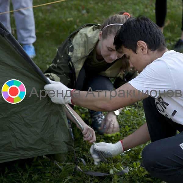 Сборка-разборки Палатки