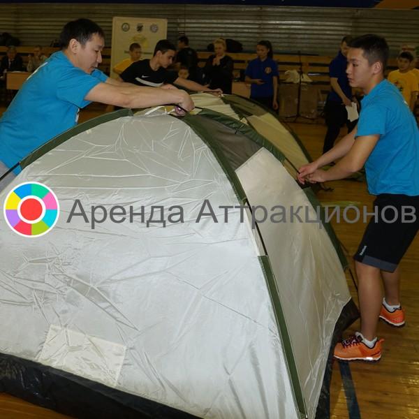 Сборка-разборка палатки в аренду на мероприятие
