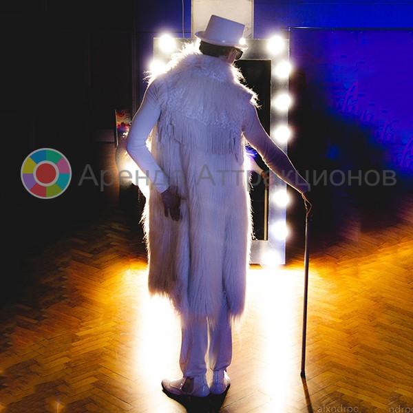 Селфи-зеркало Промо с лампочками