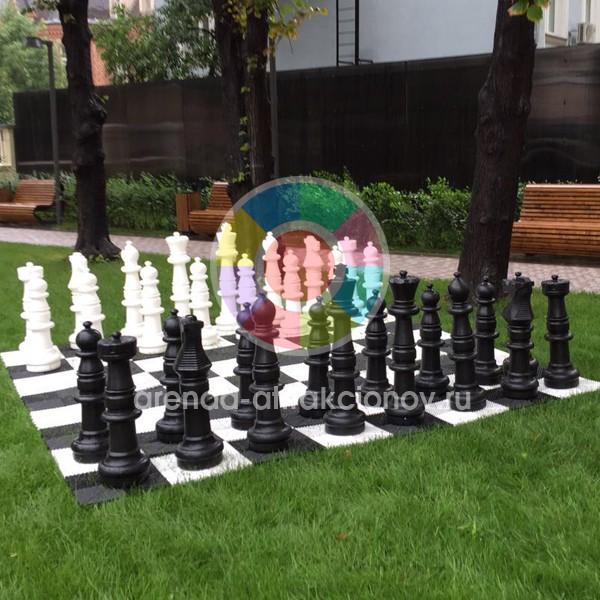 Аренда огромных шахмат