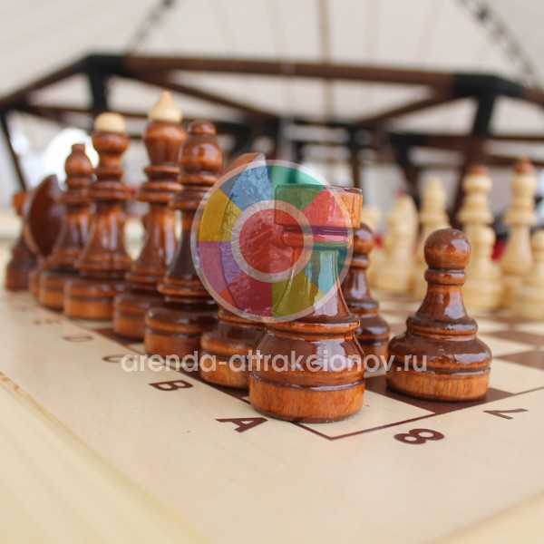 Аренда городских шахмат