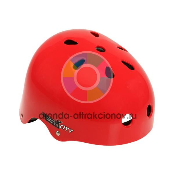 Шлем страховочный аттракциона для кольцеброса конус