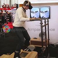 Симулятор сноуборда в VR очках
