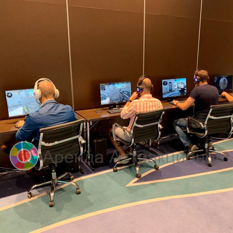 Аренда в современном компьютерном клубе