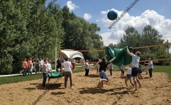 волейбол на мероприятие