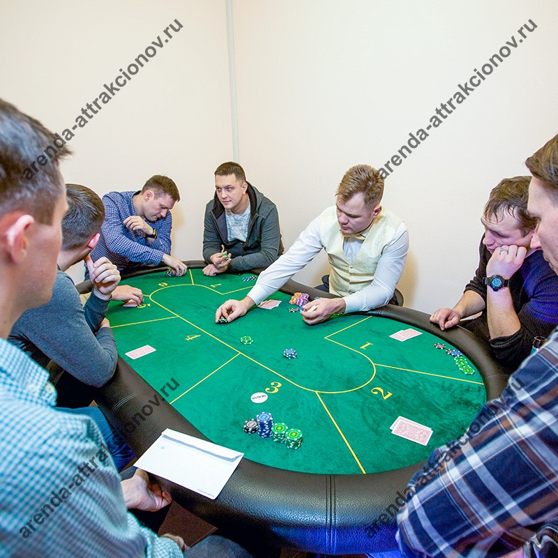 Техасский холдем спортивный покер на 7 игроков