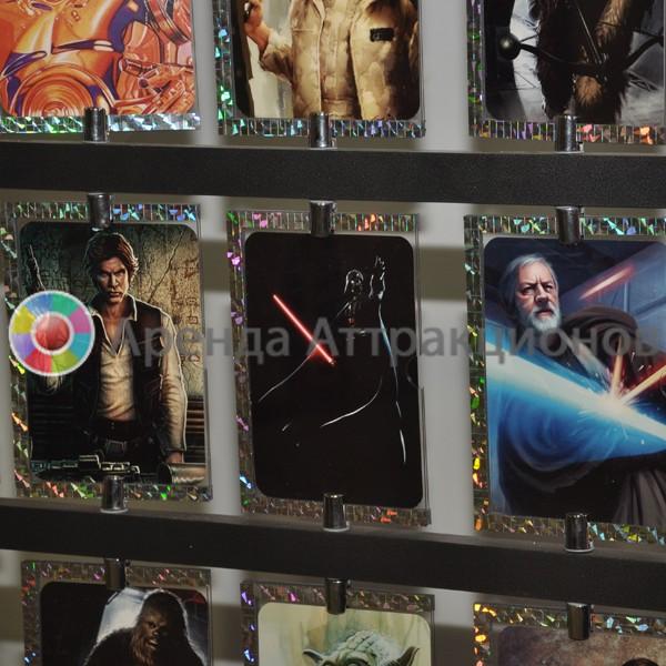 Изготовление 20 карт для карточного стенда Star Wars