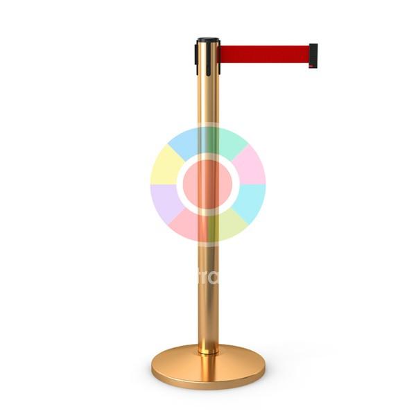 Столбик для ограждения золотой в аренду