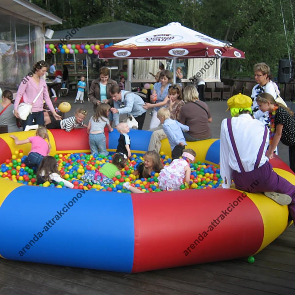Сухой бассейн для мероприятий
