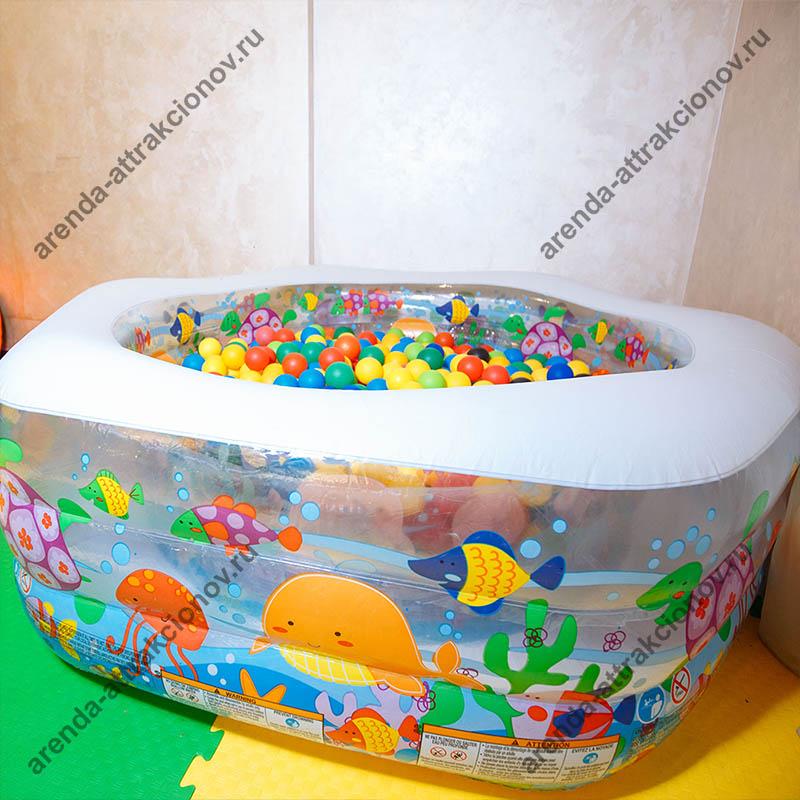 Заказать сухой бассейн Малый