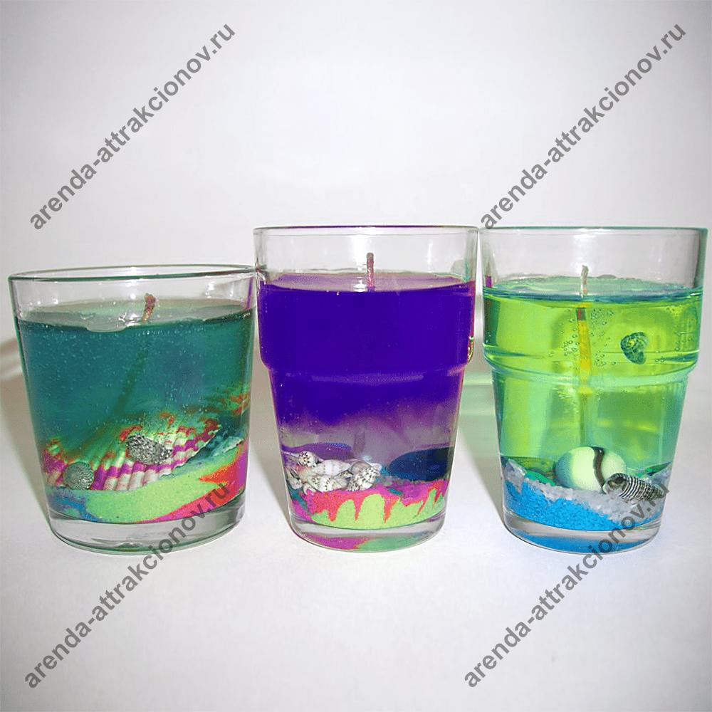 Ароматизированные гелевые свечи