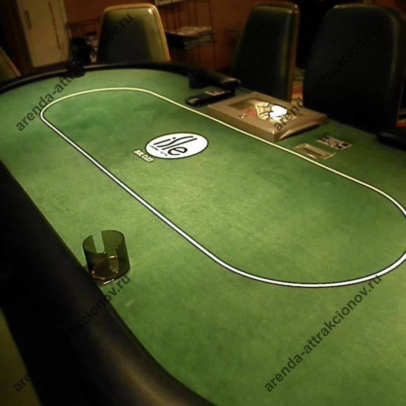 Эксклюзивное сукно для игрового стола к казино из Лас Вегаса