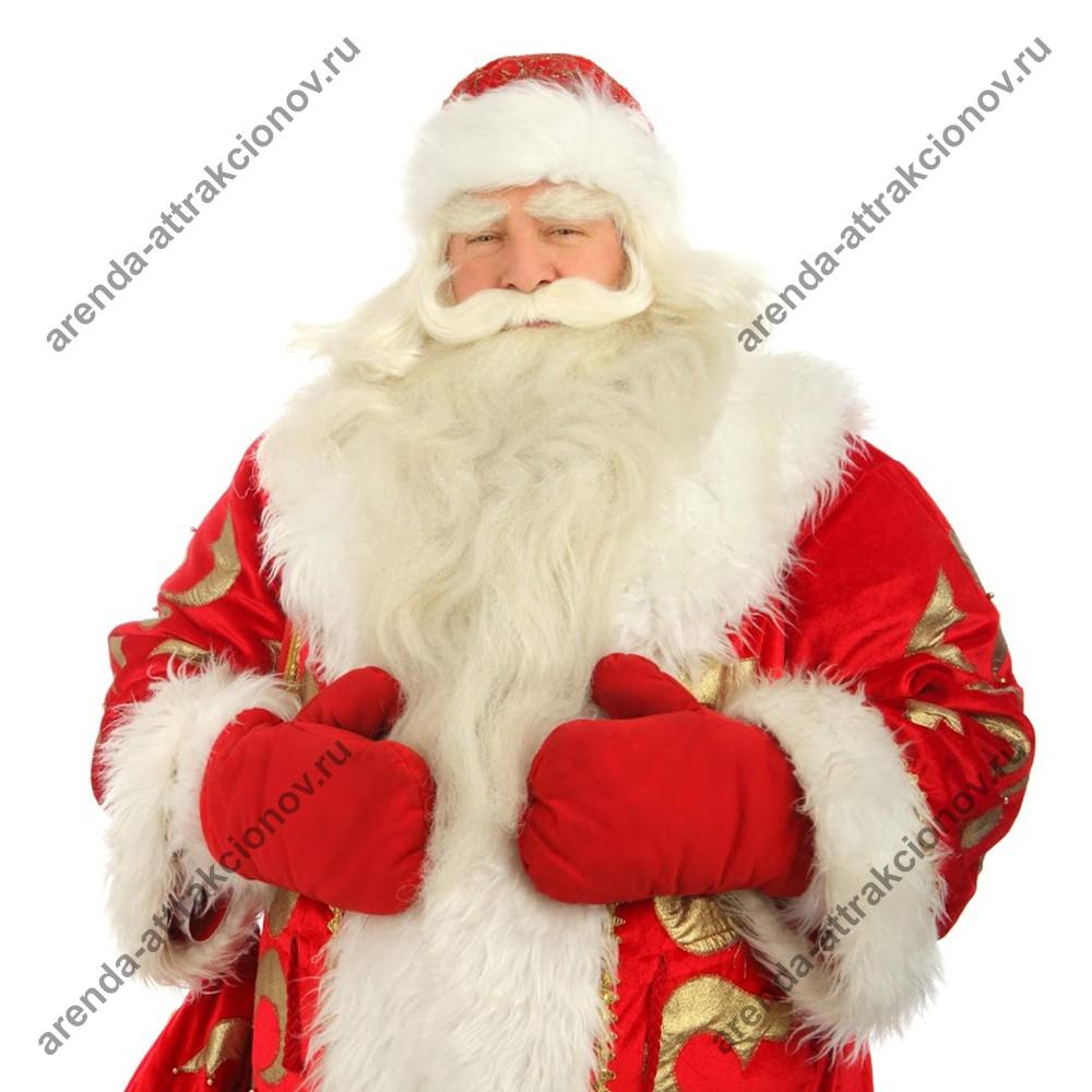 Аниматор в костюме Деда Мороза