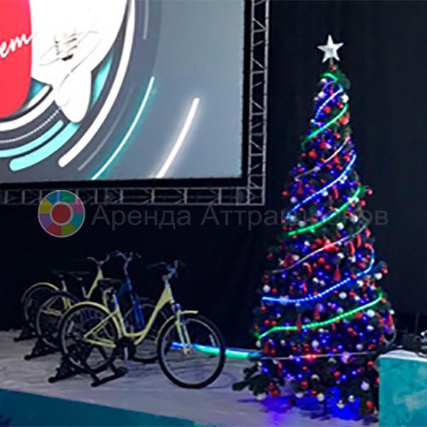 Велоёлка в аренду на мероприятие