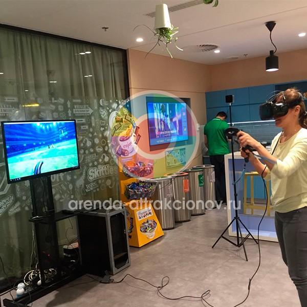 VR аттракциона Футбольный вратарь на прокат