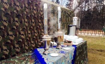 военная чайная станция в аренду