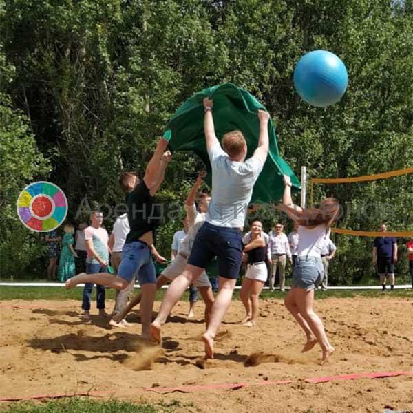 Аренда аттракциона для тимбилдинга Волейбол командный