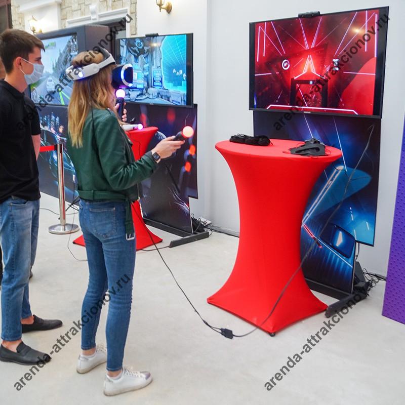 Заказать аттракцион виртуальной реальности Блок Сплит на вечеринку