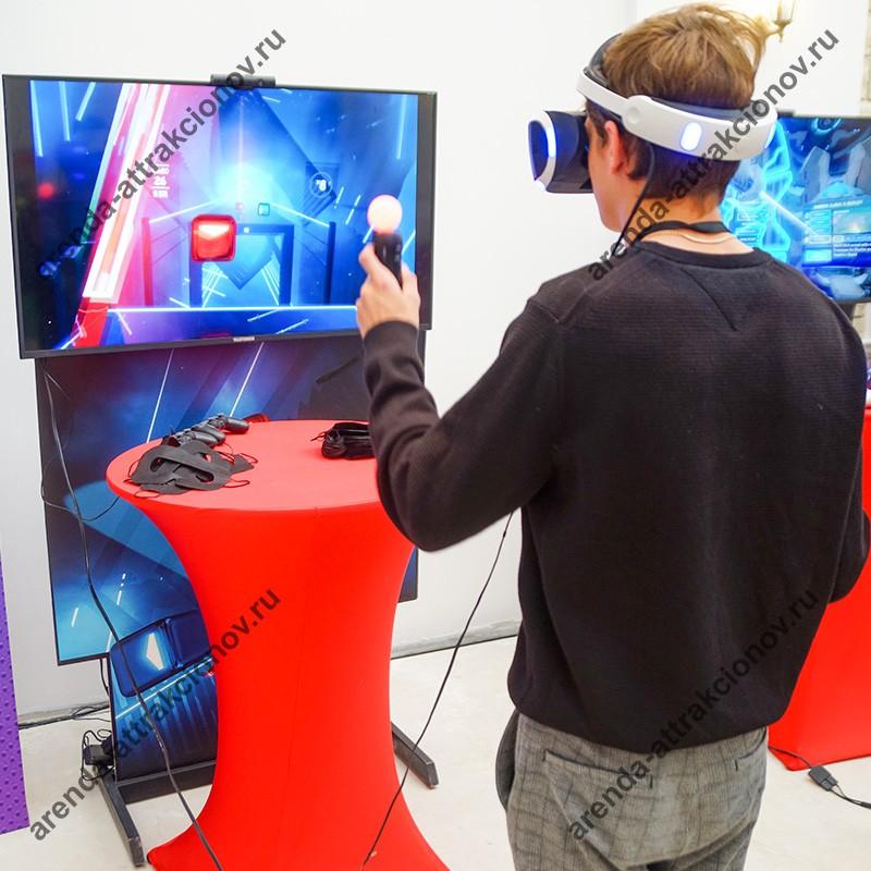 Заказать в аренду аттракцион виртуальной реальности Блок Сплит
