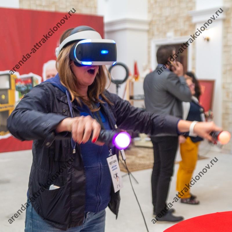 Аренда VR Блок Сплит на корпоратив