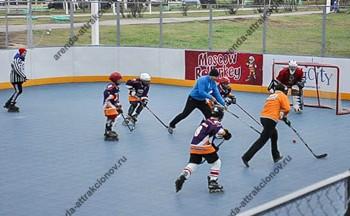 хоккей на роликах на праздник