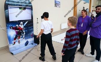 виар хоккей в аренду