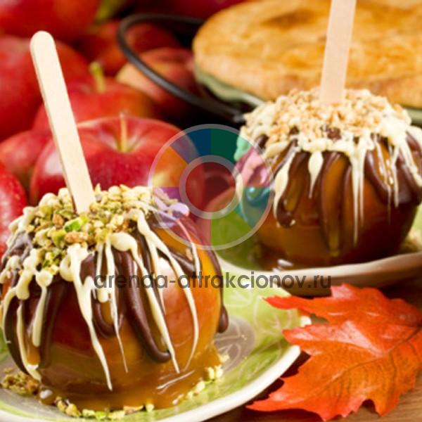 Яблоки в карамели на вечеринку
