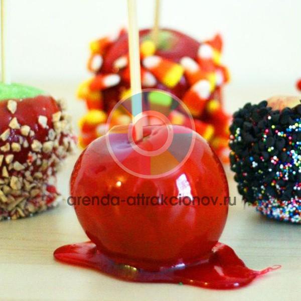 Яблоки в карамели на мероприятие