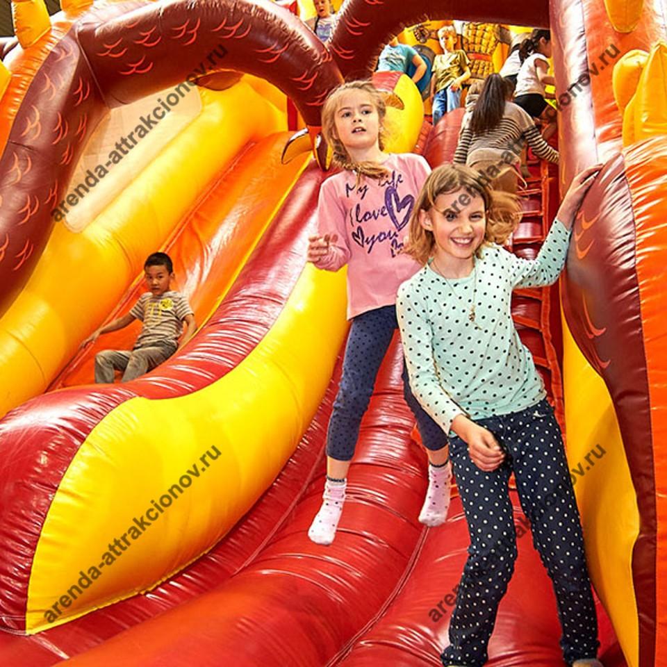 Аренда аттракциона Змей Горыныч на детский праздник